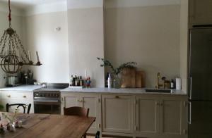 Stilrent och modulbyggt kök