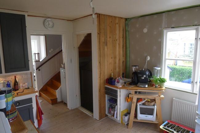 Så här såg köket ut innan renoveringen